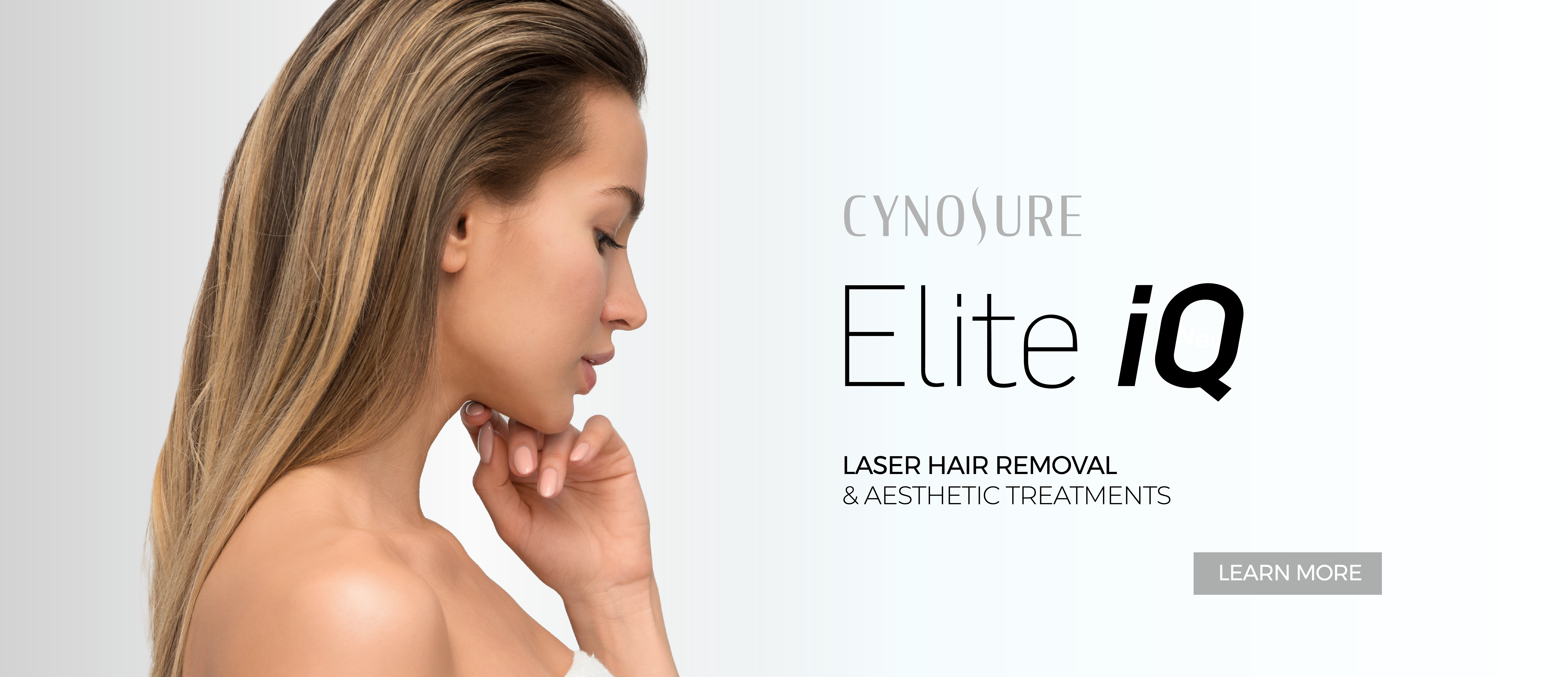 Laser Hair Removal and aesthetic treatments with Elite iQ from Cynosure, available at Papillon Bleu Aesthetics in Coquitlam, British Columbia Canada